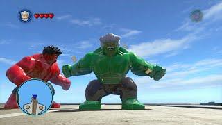 getlinkyoutube.com-LEGO Marvel Super Heroes - All Big-Fig Characters