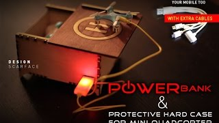 getlinkyoutube.com-Protective hard case With PowerBank for mini quadcopter Cheerson CX-10