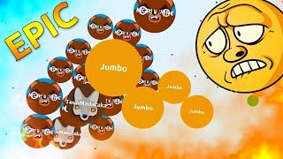 getlinkyoutube.com-Agar.io SOLO VS TEAM !! Amazing Agario Gameplay ( Highlights )