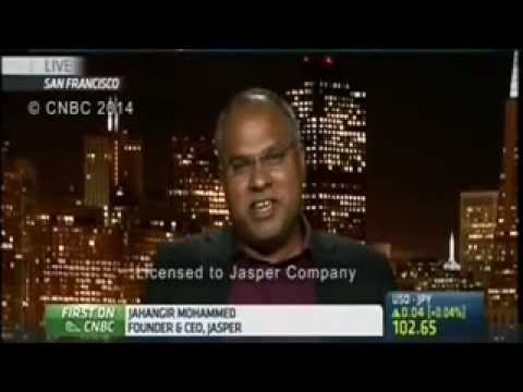 Jasper CEO, Jahangir Mohammed, interviewed on CNBC Asia