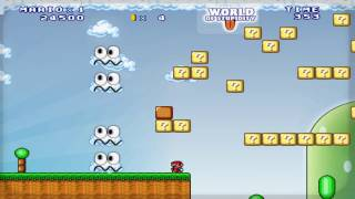 getlinkyoutube.com-Mario Forever 6.0 - World Of Stupidity Walkthrough [HD]