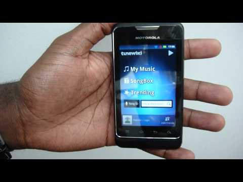 Motorola MOTOSMART - Hands On Walkthrough On Video