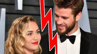 MIley Cyrus & Liam Hemsworth BREAKUP!