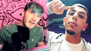 YouTuber Almost ARRESTED, PewDiePie Drinks PEE? YouTubers HACKED! Brawadis, TheNeedleDrop