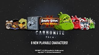 getlinkyoutube.com-Angry Birds Star Wars 2: Carbonite Pack gameplay trailer