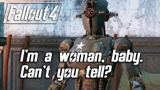 getlinkyoutube.com-Fallout 4 - I'm a woman, baby. Can't you tell?
