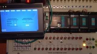getlinkyoutube.com-Sterowanie oświetleniem - PLC Fatek FBs-24MCT, oraz HMI Weintek MT8070iH