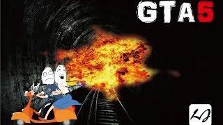 getlinkyoutube.com-【阿飄日常】GTA v 如何用機車上爆電車,要一些紙袋!