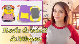getlinkyoutube.com-Funda de movil de minion de fieltro y SORTEO video colaborativo con Victor-Vic Isa ❤️