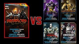 getlinkyoutube.com-Real Steel WRB ChampionShip | DreadLord VS NoisyBoy GridLock Camelot Cosmobot |