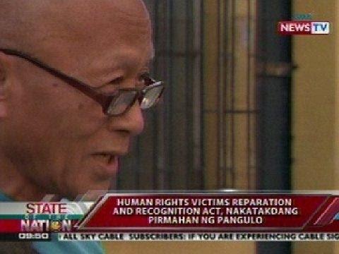 Human rights victims, makakatanggap ng kompensasyon mula sa gobyerno