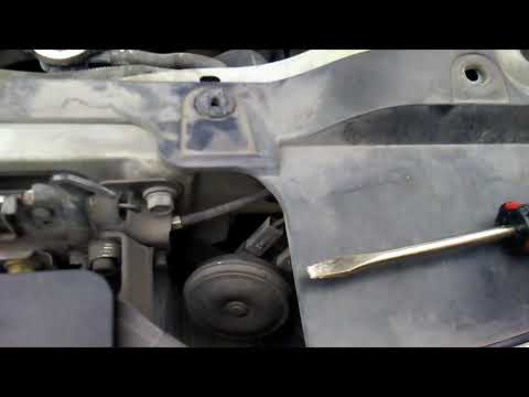 How to replace front bumper Nissan nv200