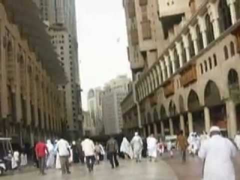 Kabootars (Pigeons) flying scene at Holy Makkah compound and Star Hotels-part 2