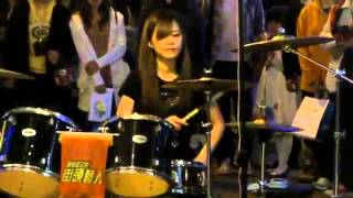 getlinkyoutube.com-Chen Man Qing- Telephone (Lady Gaga & Beyonce) drum cover