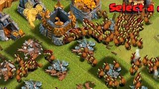 getlinkyoutube.com-Clash of clans - 300 Goblin troop Raid (Get dAt Monie) (300 Troop Challenge)