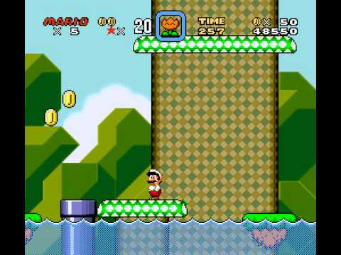 Super Mario World - Super Mario World - Yoshi Land!(SNES) - Vizzed.com Play - User video