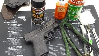 getlinkyoutube.com-Gun Cleaning Tips - Cleaning the M&P Shield