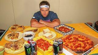 getlinkyoutube.com-Michael Phelps Diet Challenge (12,000+ Calories)