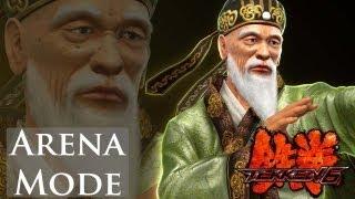 getlinkyoutube.com-Tekken 6 - Arena Mode - Wang Jinrei