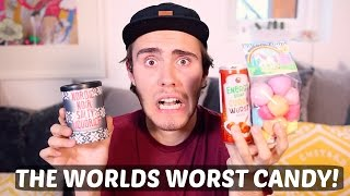getlinkyoutube.com-TRYING THE WORST CANDY!