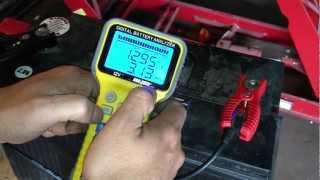 getlinkyoutube.com-Lead Acid Battery Desulfation Using Epsom Salt  -- First Test, Adding Solution   Part 1 of 6