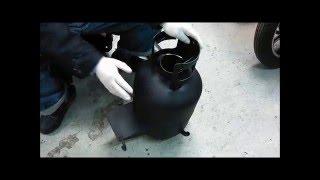 廃油ストーブ 機能説明