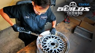 getlinkyoutube.com-Clarion Builds Breathes New Life Into a Classic Set of BBS RS Wheels