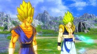 getlinkyoutube.com-Dragonball Z Ultimate Tenkaichi - Modded Story Mode - Saiyan Saga Part 1