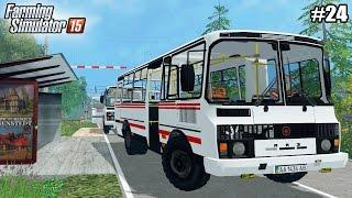 getlinkyoutube.com-Farming Simulator 15 моды: ПАЗ-32053  (24 серия) (1080р)