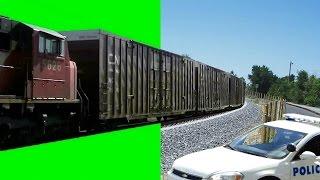 getlinkyoutube.com-Real Train 1080p - Green Screen Effect HD
