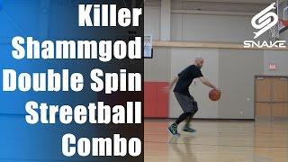 Streetball Moves Tutorial - Killer Shammgod Double Spin Combo