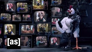 getlinkyoutube.com-Robot Chicken and Mad Scientist to the Rescue! | Robot Chicken | Adult Swim