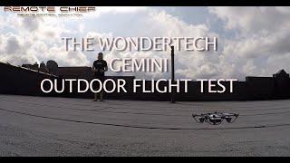 getlinkyoutube.com-Quadcopter Review - THE WONDERTECH GEMINI OUTDOORS ROOFTOP FLIGHT