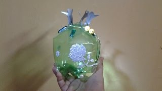 getlinkyoutube.com-Best Out of Waste Plastic bottle transformed to Unity Gift Box
