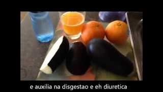 getlinkyoutube.com-Suco de Berinjela + Laranja ajuda emagrecer mais rapido  εïз ALINE FORDE