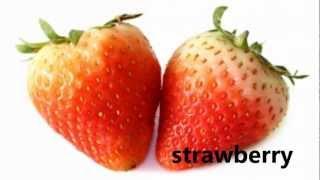 getlinkyoutube.com-Fruit Names - ESL - 36 different fruits