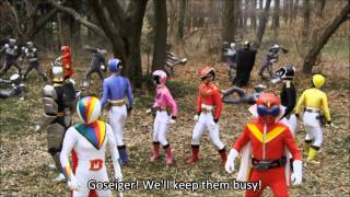 getlinkyoutube.com-Goseiger Gokaiger Super Sentai 199 Great Battle   Legend War