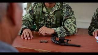 Mínima respuesta a canje de armas en Tuxtepec