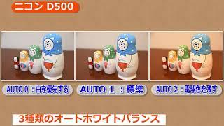 getlinkyoutube.com-ニコン デジタル一眼レフカメラ D500 (カメラのキタムラ動画_Nikon)