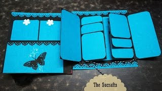 Quick Simple Scrapbook | The Sucrafts