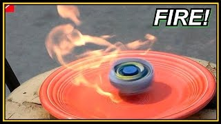 getlinkyoutube.com-BEYBLADE -  Radical FIRE Experiment Mod!