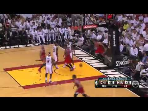 Chicago Bulls Vs Miami Heat - NBA Playoffs 2013 Game 1 - Full Highlights 5/6/13