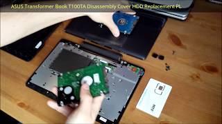 getlinkyoutube.com-ASUS Transformer Book T100TA Otwarcie Obudowy