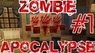 getlinkyoutube.com-Zombie Apocalypse PL - Minecraft - Przygoda śmierci i wafelków #1