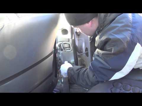 Замена переднего ремня безопасности Camry SV40