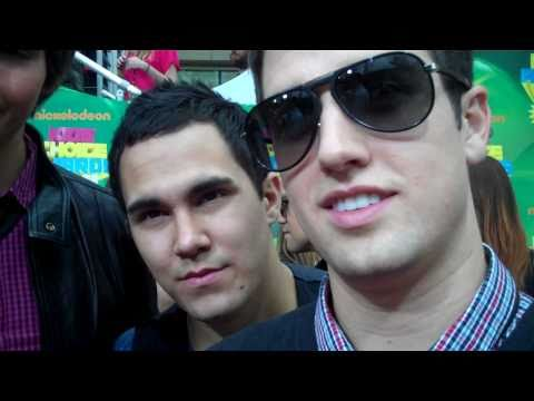Big Time Rush at the 2011 Kids' Choice Awards