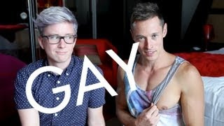 25 WAYS TO KNOW YOU'RE GAY - Tyler Oakley & Davey Wavey