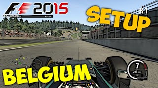 getlinkyoutube.com-F1 2015 Belgium Setup + Hotlap 1:45.459 [PC][Gamepad][[HD+]