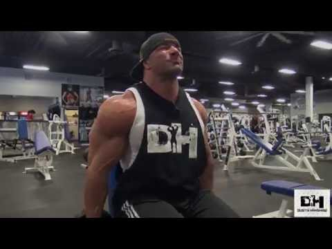 Dusty Hanshaw Blasts Shoulders at Independence Gym Aug 22, 2016