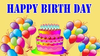 getlinkyoutube.com-Happy Birthday Song for Kids | Happy Birthday Songs for Children 2D Animated Video